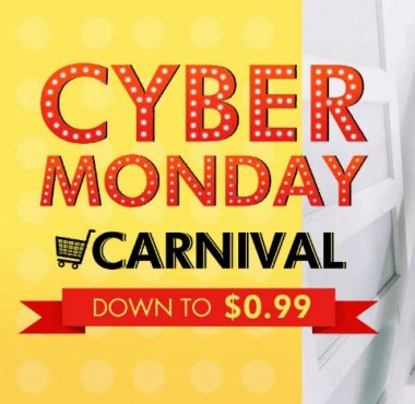 Акция «Cyber Monday Carnival Enjoy $5 Off from Every $59 Purchase» на Распродажа.ру