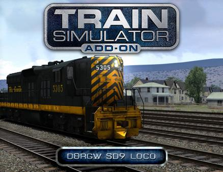 Train Simulator: D&RGW SD9 Loco Add-On (PC)
