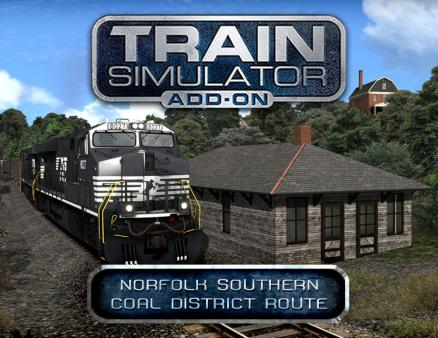 Train Simulator: Norfolk Southern Coal District Route Add-On (PC)
