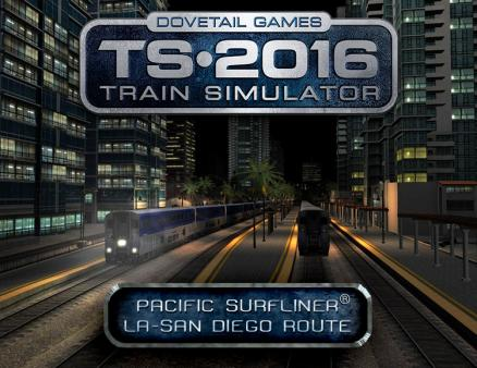 Train Simulator: Pacific Surfliner® LA - San Diego Route (PC)
