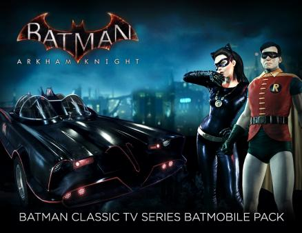Batman: Arkham Knight - Batman Classic TV Series Batmobile Pack (PC)