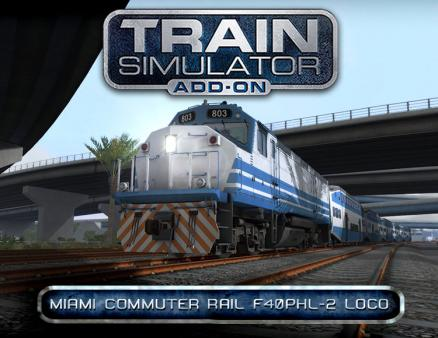 Train Simulator: Miami Commuter Rail F40PHL-2 Loco Add-On (PC)