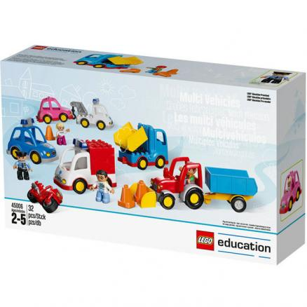 LEGO Education PreSchool 45006 Муниципальный транспорт DUPLO