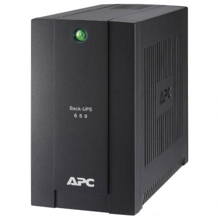 ИБП APC by Schneider Electric Back-UPS 650ВА (BC650-RSX761)