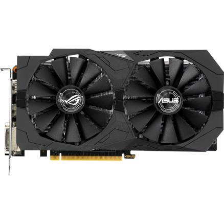 Видеокарта ASUS GeForce GTX 1050 Ti 4096Mb, Strix-GTX1050TI-O4G-Gaming 2xDVI-D, HDMI, DP Ret