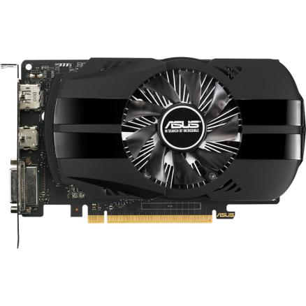Видеокарта ASUS GeForce GTX 1050 Ti 4096Mb, PH-GTX1050TI-4G DVI-D, HDMI, DP Ret