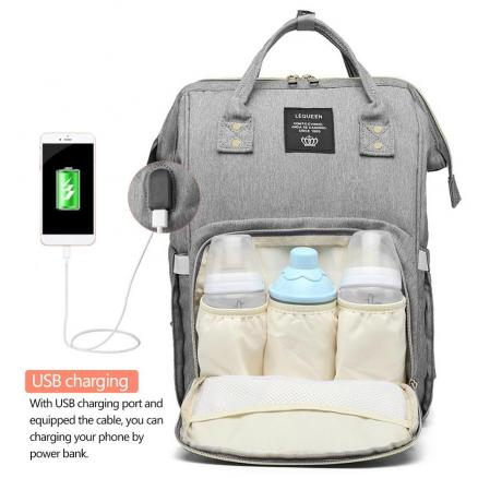 Mummy Maternity Nappy Bag USB Charging Stroller bolsa Large Capacity Baby Travel Backpack Mommy Nursing Bag Care  Diaper Bags