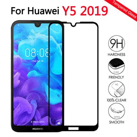 full cover Tempered Glass For Huawei Y5 2019 Glass Screen Protector For Huawei huawey Y5 2019 AMN-LX1 y 5 2019 Protective Film