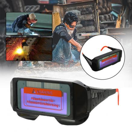 Automatic Dimming Welding Lens Solar Auto Welding Protect Eyes Safety Glasses For The Welder Dimming Welding Glasses