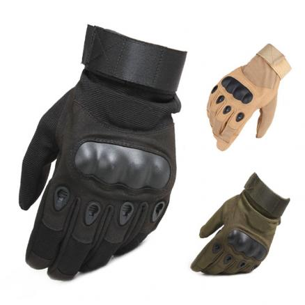 Tactical gloves Hard Knuckle Full Finger Gloves Men Airsoft Paintball Hunting Shooting Special Army Military Combat Police Duty