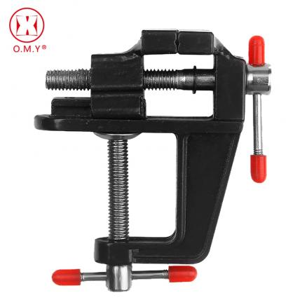 OMY Hot 1PC High Quality New Aluminum Small Jewelers Hobby Clamp On Table Bench Vise Mini Tool Vice
