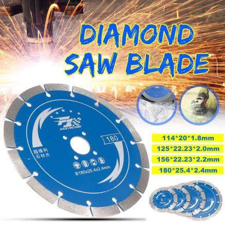 114/125/156/180mm Diamond Saw Blades Wood Cutting Disk Cutting Wood Saw Disc Multitool Wood Cutter Angle grinder For Wood
