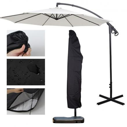 New Outdoor Garden Banana Umbrella Cover Waterproof Oxford Cloth Patio Overhang Parasol Rain Cover Accessories Rain GearGM