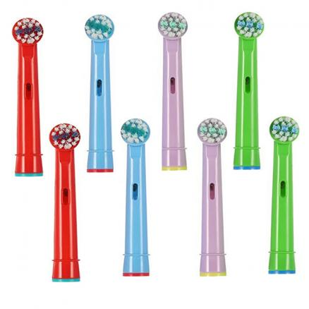 8PCS eb-10a kids Generic Electric Sonic Replacement Brush Heads,for Toothbrush Oral-B Vitality D12.513 3d white/oral b 5000