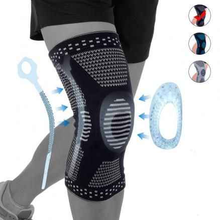 1Pcs Professional Compression Knee Brace Support For Arthritis Relief, Joint Pain, ACL, MCL, Meniscus Tear, Post Surgery