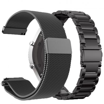 For Xiaomi Huami Amazfit Stratos 2 2S Strap For amazfit pace bracelet strap Metal 22mm Watchband For Amazfit GTR 47mm Band Steel