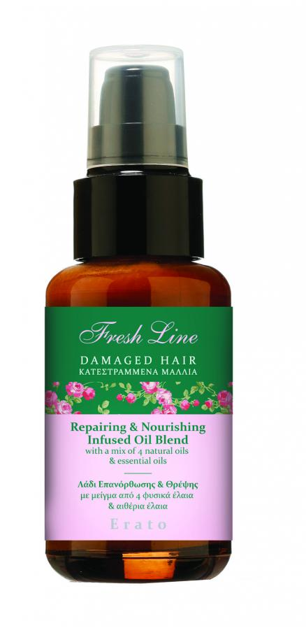 Fresh Line Erato Hair Survived Infused Oil Blend