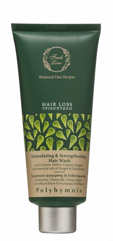 Fresh Line Polyhymnia Stimulating and Strengthering Hair Wash