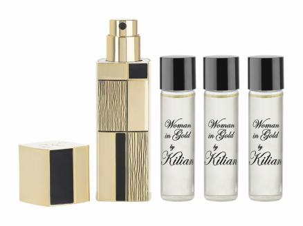 By Kilian Woman in Gold Travel Set