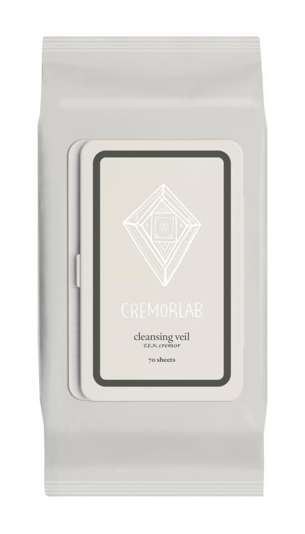 Cremorlab T.E.N. Cremor Cleansing Veil 70 Sheets