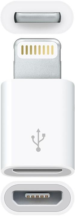 Адаптер Apple (Lightning to Micro USB Adapter White)
