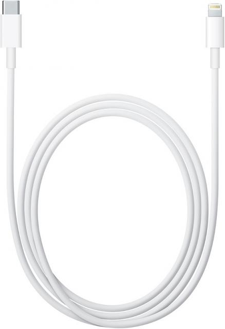 Адаптер Apple (Lightning to USB-C Cable 1m MK0X2ZM/A White)