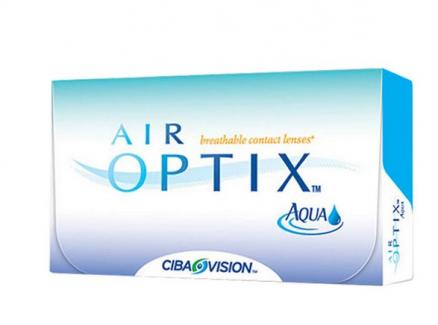Контактные линзы Air Optix Aqua (-3.00, радиус:8.6) 6 шт.