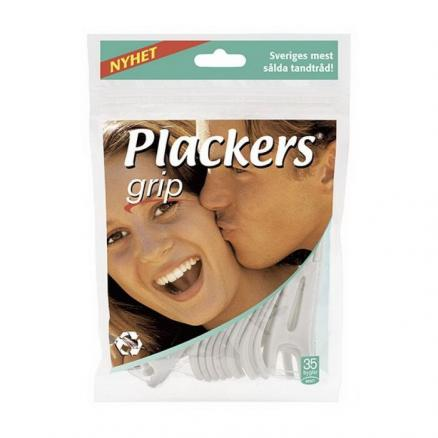 Флоссер Plackers Grip tuffloss 35шт