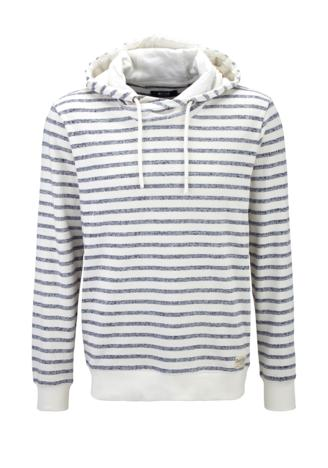 1/1 Slv Striped Hoody