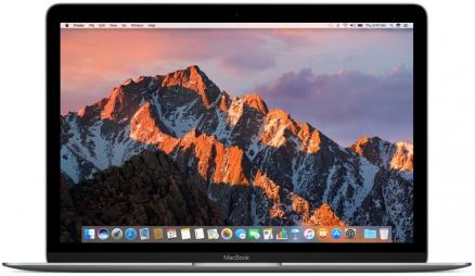 "Apple MacBook 12"" MNYF2RU/A 256GB (серый космос) (MacBook 12"" MNYF2RU/A 256GB (Intel Core M3 1200 Mhz/12""/2304x1440/8192Mb/256Gb HDD/Intel® HD Graphics 615/WIFI/macOS Sierra))"