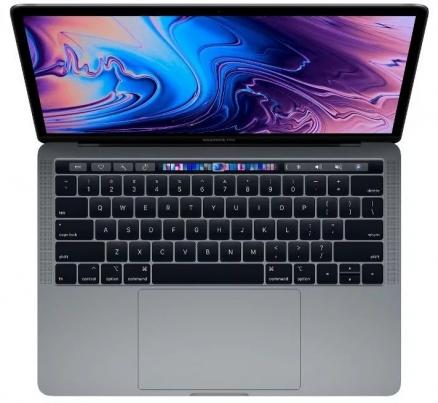 "Apple MacBook Pro 13"" 256GB Touch Bar (серый космос) (MacBook Pro 13"" 256GB Touch Bar (Intel Core i5 2300 Mhz/13.3""/2560x1600/8192Mb/256Gb HDD/Intel® Iris Plus Graphics 655/WIFI/macOS High Sierra))"