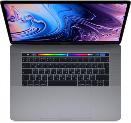 "Apple MacBook Pro 15"" 512GB Touch Bar (серый космос) (MacBook Pro 15"" 512GB Touch Bar (Intel Core i7 2600 Mhz/15.4""/2880х1800/16384Mb/512Gb HDD/AMD Radeon Pro 560X/WIFI/macOS High Sierra))"