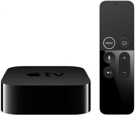 Apple TV 4K 64Gb (черный)