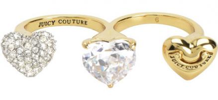 Кольца Juicy Couture WJW58/GOLD