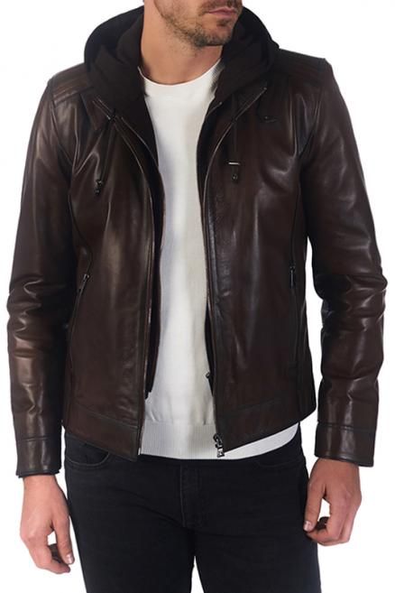 leather jacket Paul Parker