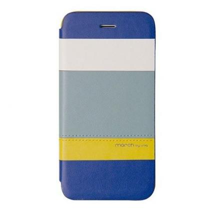 "Чехол для iPhone 6/6S ""March Blue/Yellow"""
