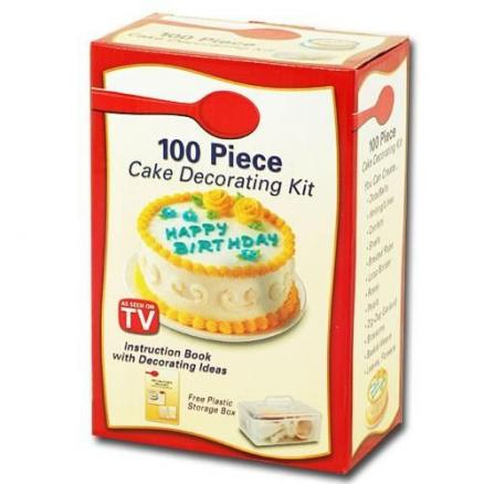 Набор для украшения тортов Betty Crocker 100 Piece Cake Decorating Kit