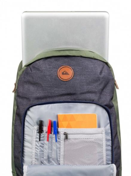 Рюкзак QUIKSILVER Upshot M Bkpk Medium Grey Heather 22L