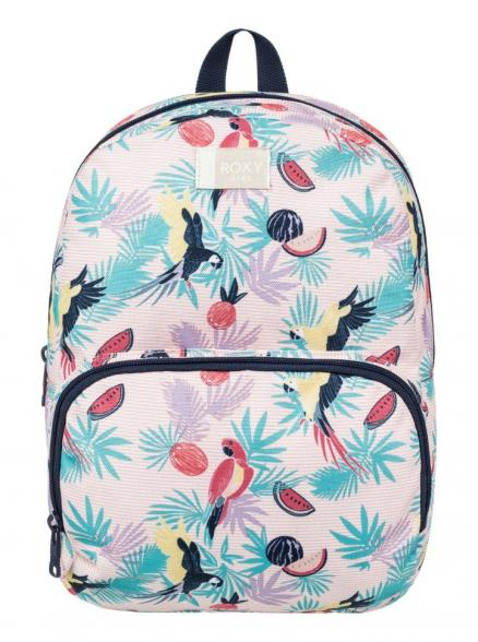 Рюкзак для девочек ROXY All The Colors K Tropical Peach Parrots Island