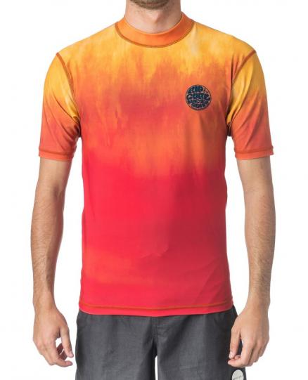 Гидромайка RIP CURL Corpo Faded Uv Tee Orange
