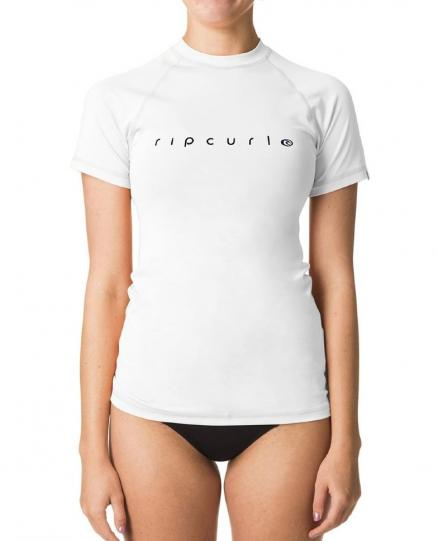 Гидромайка RIP CURL Sunny Rays Relaxed S/Sl White