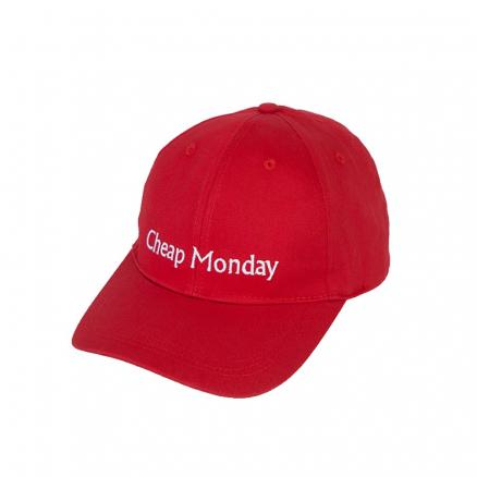 Кепка CHEAP MONDAY Cm Baseball Cap Scarlet Red