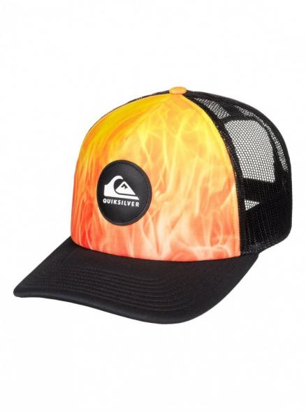 Кепка QUIKSILVER Brightlearnings Hdwr Tiger Orange