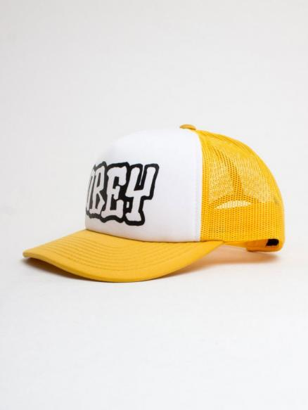 Кепка OBEY Loot Trucker Hat Yellow