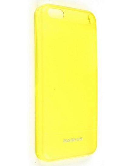 Baseus Ultra Thin Case 0.6mm for iPhone 5C (Yellow)