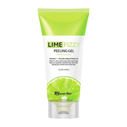 Гель-скатка Secret Skin Lime Fizzy Peeling Gel 120мл