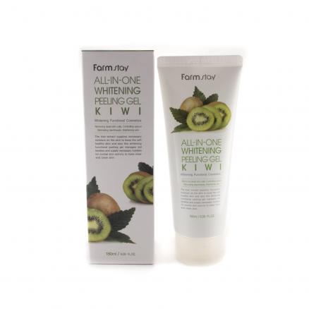 Пилинг-скатка с экстрактом киви FarmStay All-In-One Whitening Peeling Gel Kiwi, 180мл