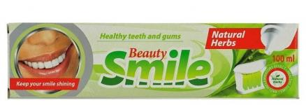 Зубная паста Beauty Smile Natural Herbs 100мл