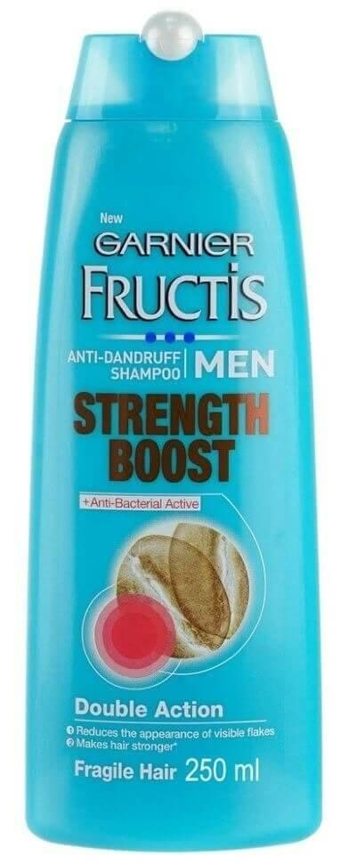 Шампунь Garnier Fructis Men Anti Dandruff Strength Boost Shampoo 250мл