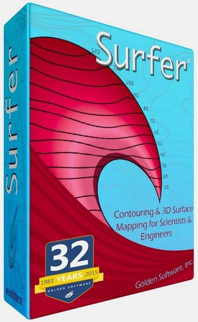 Golden Software Surfer 14